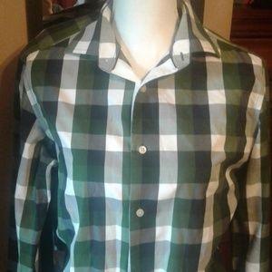 Mens Button Down Casual Shirt